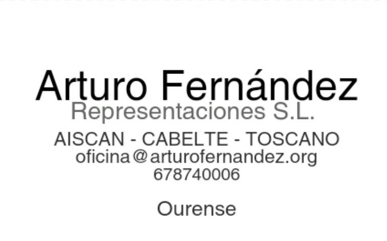 Arturo Fernández - Representaciones